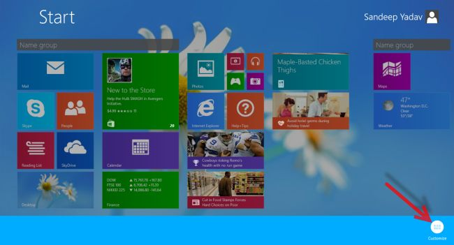 group windows 8.1 ap0ps