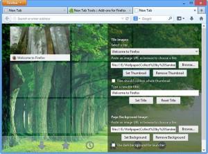 new tab tools firefox 2
