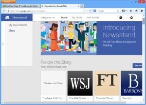 newsstand india block